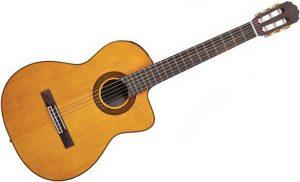 zdjęcie dobrej gitary klasycznej